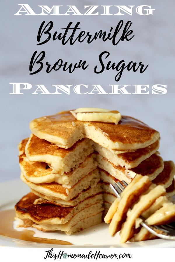 buttermilk brown sugar pancakes
