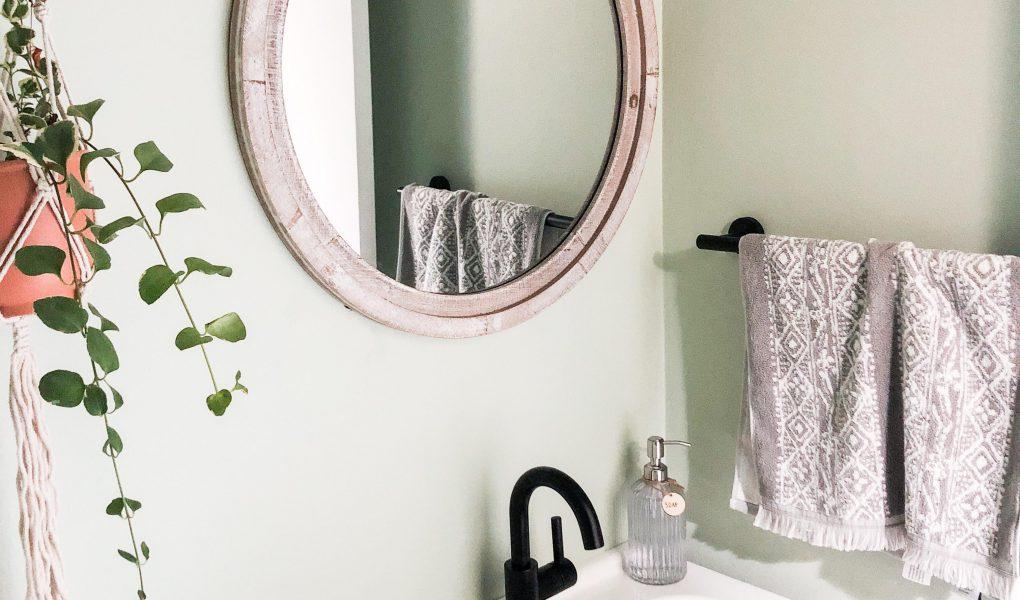 DIY Half-Bath Renovation Reveal