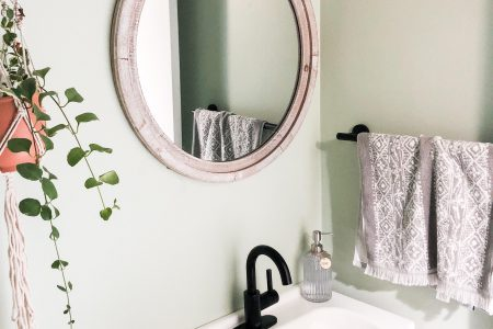 DIY Half-Bath Renovation Reveal