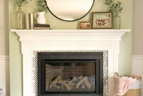 DIY Fireplace renovation