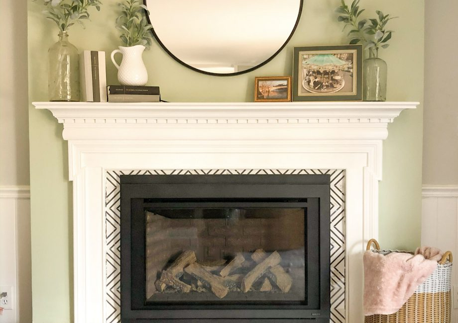 DIY Fireplace renovation